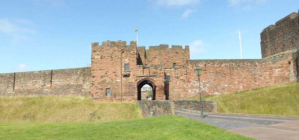 Carlisle Castle entrance image