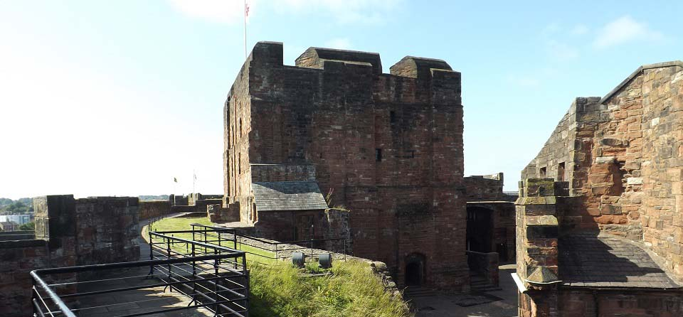 Carlisle Castle fortifications image
