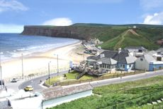 Saltburn Beach and Hunt Cliff image