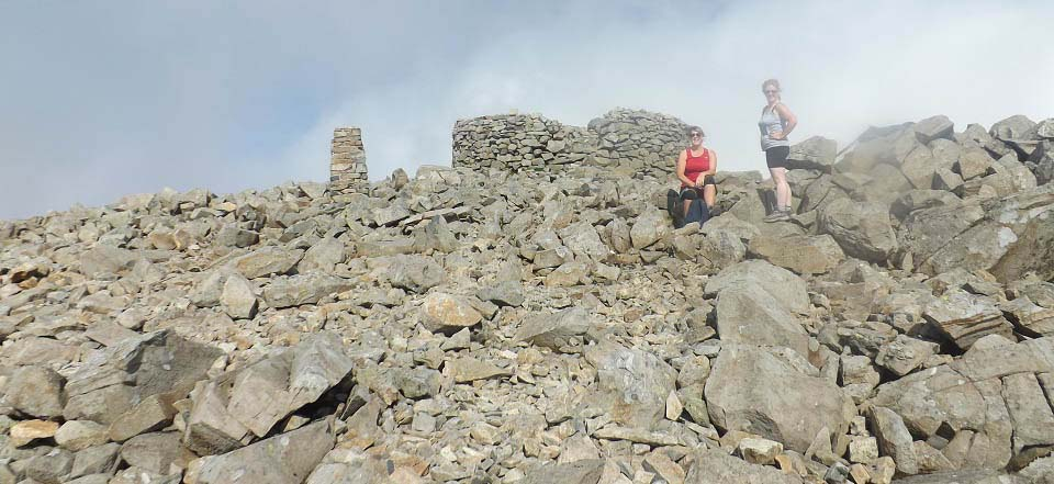 Scafell Pike summit image