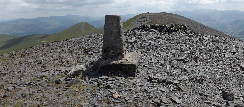 Skiddaw Trig Point image