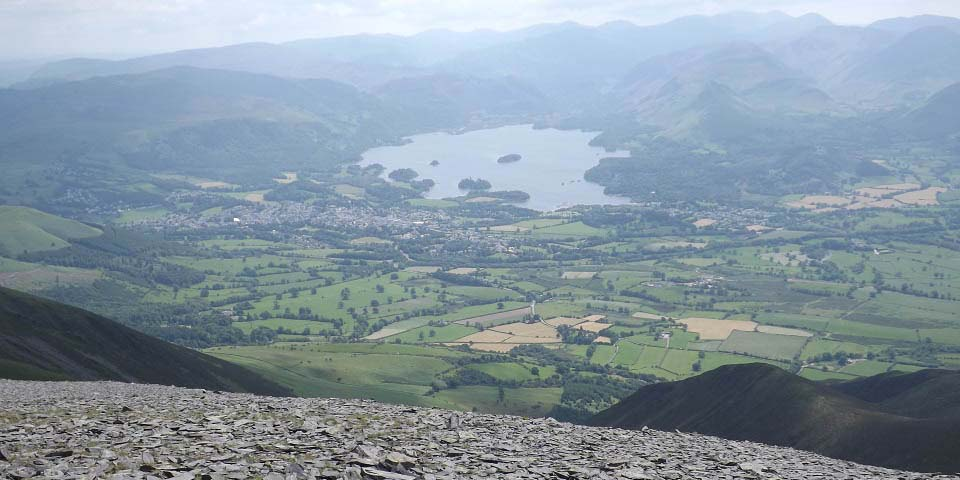 Skiddaw view over Keswick image